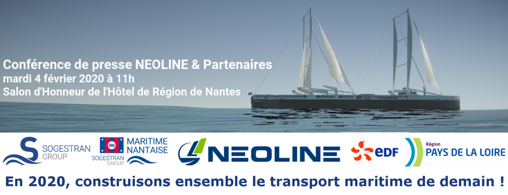 NEOLINE embarks EDF and Sogestran group / COMPAGNIE MARITIME NANTAISE MN in the energy transition of maritime transport