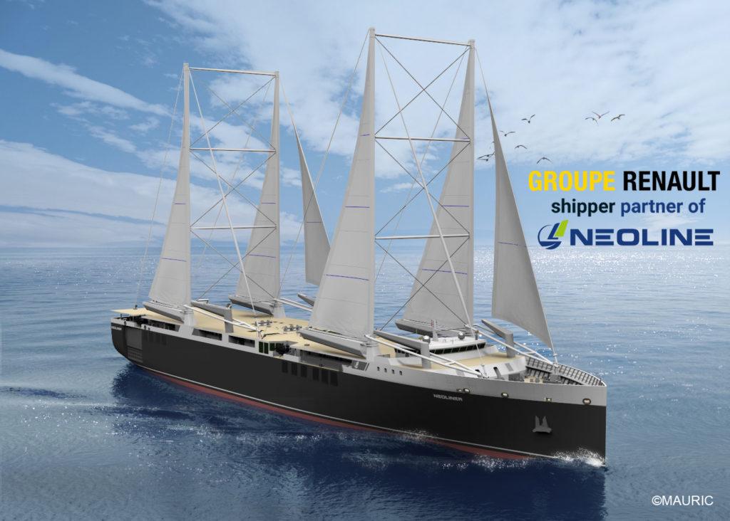 RENAULT shipper partner of NEOLINE