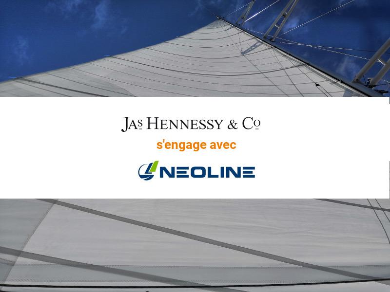 Jas Hennessy & Co s'engage auprès de NEOLINE et poursuit ses engagements en matière de transport durable
