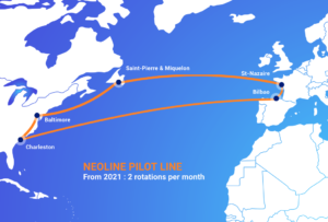 Pilot Line NEOLINE : from 2021, 2 rotations per month
