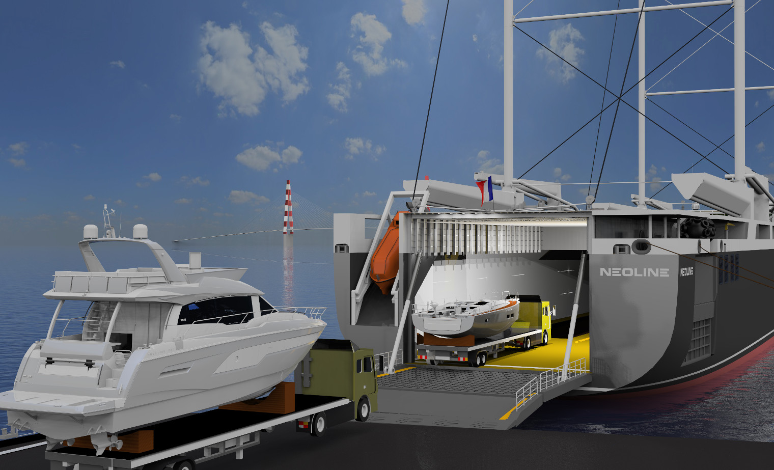 Groupe Beneteau confirms its interest for NEOLINE - NEOLINE