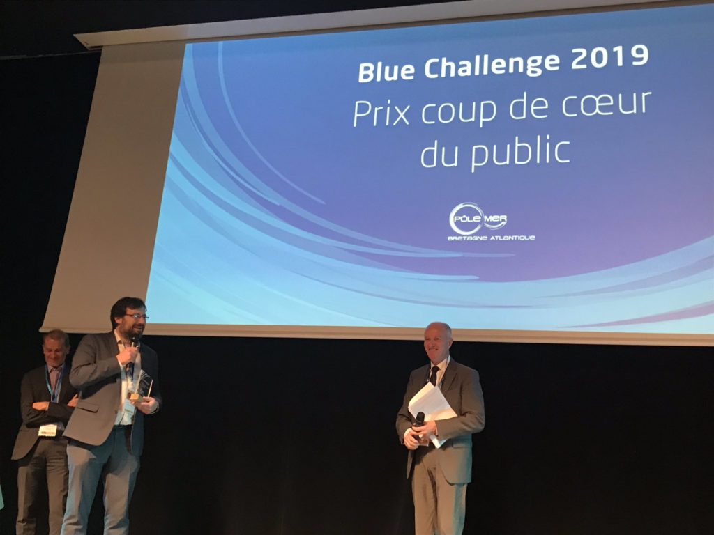 NEOLINE winner of the Blue Challenge 2019: Audience Favourite Award
