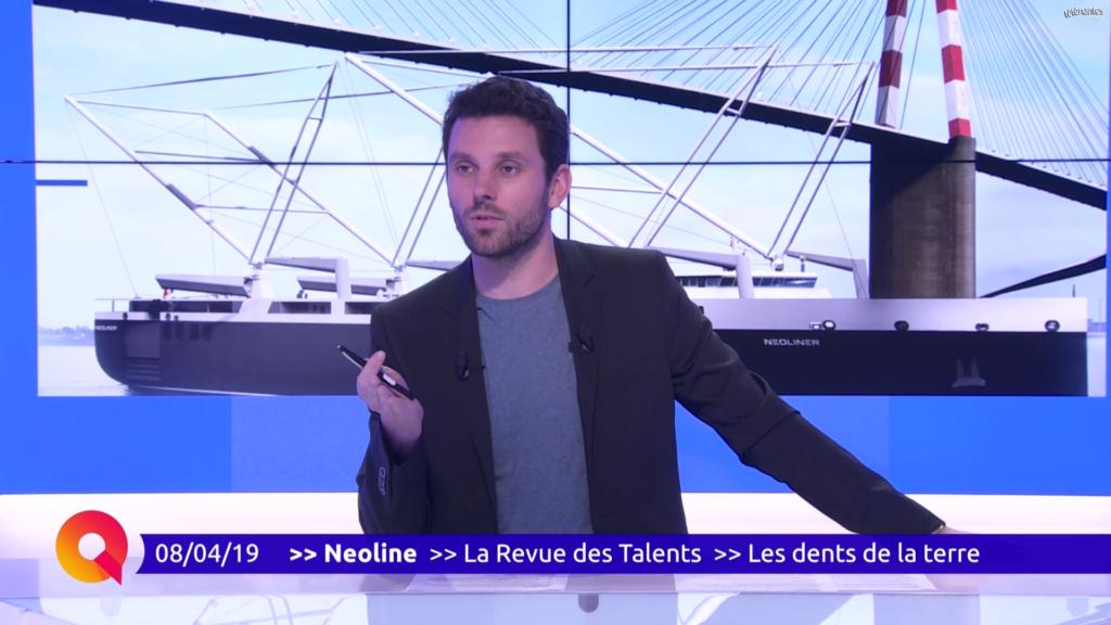 Emission TV : NEOLINE en direct sur le plateau de Télénantes