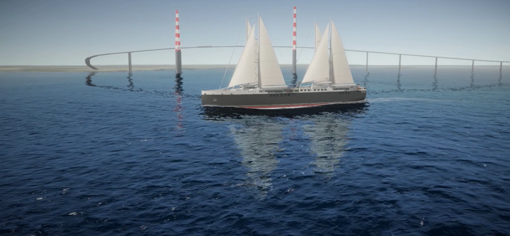 NEOLINE selects Neopolia's offer for the construction of its first two 136m sailing cargo ships in Saint-Nazaire