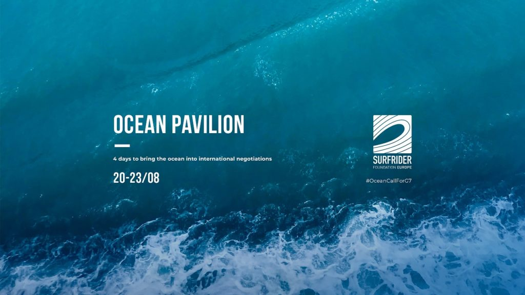 NEOLINE before the G7 in Biarritz with Surfrider Foundation Europe #OceanCallForG7