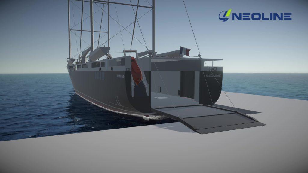 Le Groupe Beneteau s'engage avec NEOLINE pour le transport à destination de l'Amérique du Nord