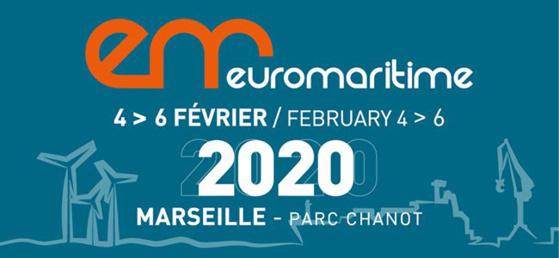 Euromaritime 2020 - Marseille du 4 au 6 février 2020