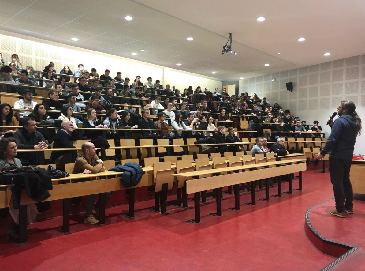 NEOLINE Conference at the IUT Gestion Logistics and ...