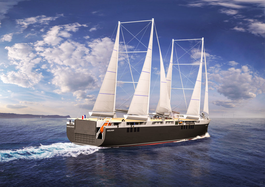 A FIRST IN THE MARITIME WORLD: EDF and NEOLINE sign an agreement to value energy savings  brought by the main wind propulsion of its sailing freighters.