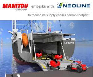 MANITOU embarks with NEOLINE