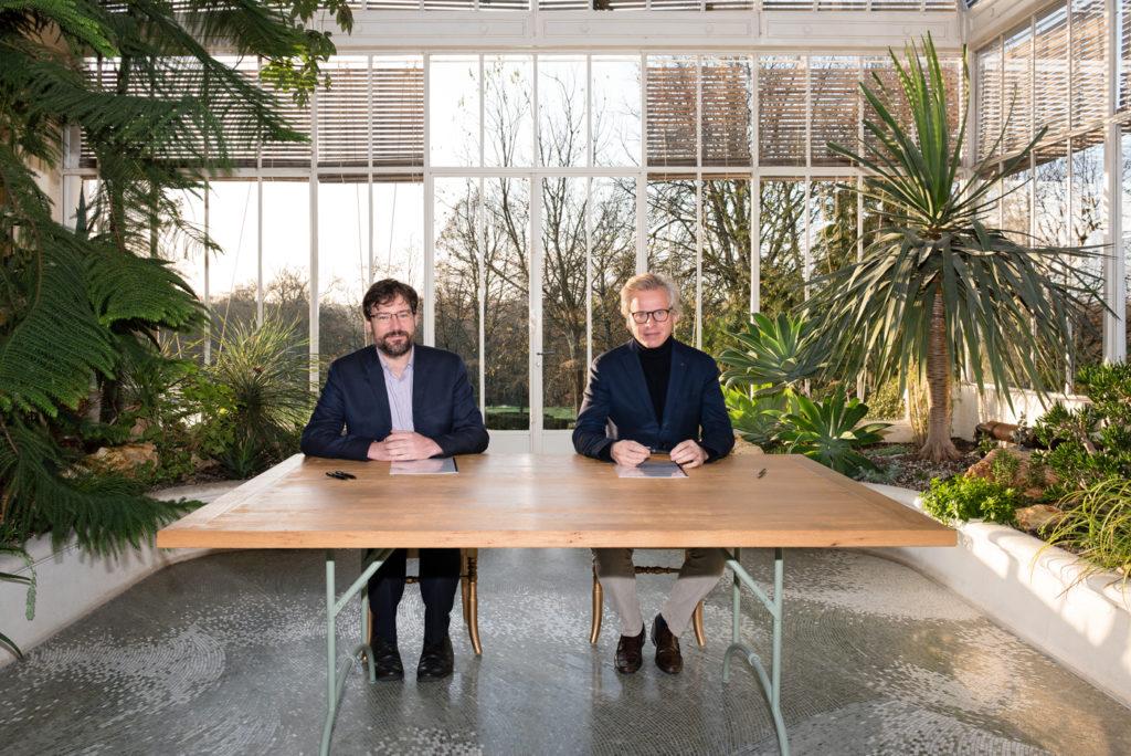 Jean Zanuttini, Président de NEOLINE et Laurent Boillot, Président de Jas Hennessy & Co.