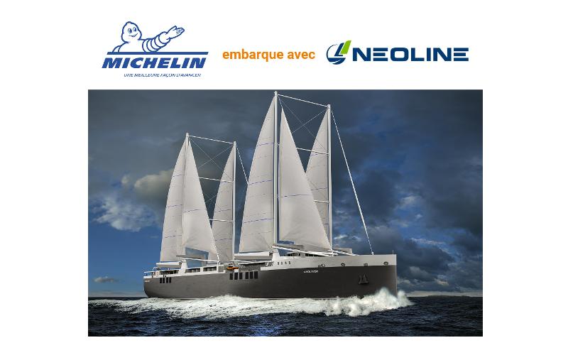 La logistique du groupe Michelin a le vent en poupe avec NEOLINE