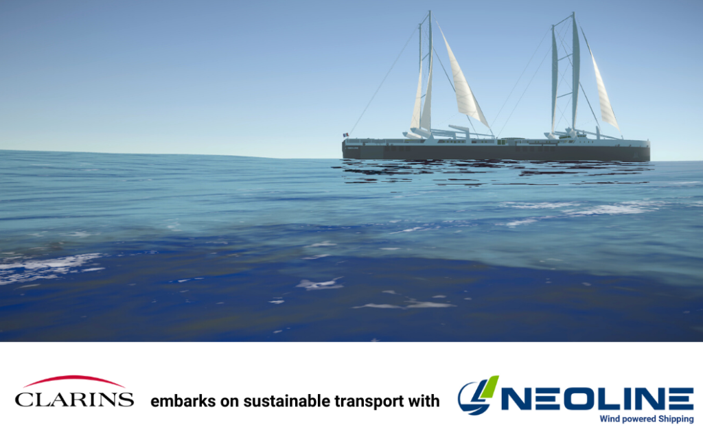 CLARINS EMBARKS WITH NEOLINE TO MAKE SHIPPING MORE ENVIRONMENTALLY-FRIENDLY